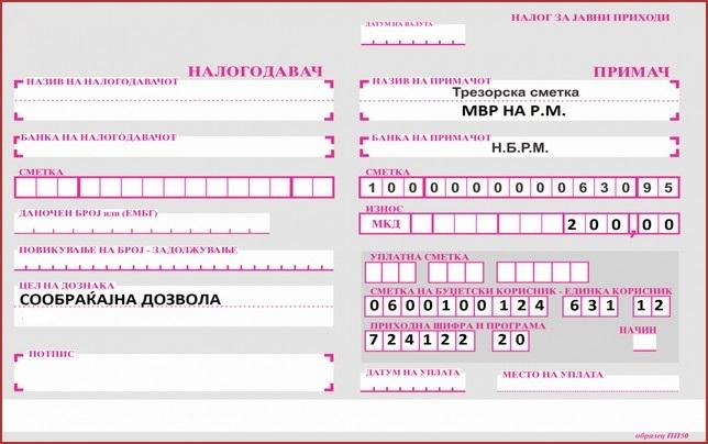 Сообраќајна дозвола